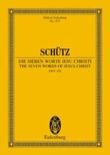 Die sieben Worte Jesu Christi - Heinrich Schütz - laflutedepan.com