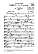 Antonio Vivaldi - Sinfonia en si min. - F. 11 n° 7 – Matériel - Partition - di-arezzo.fr