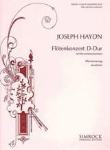 Konzert D-Dur – Flöte Klavier Joseph Haydn Partition laflutedepan.com