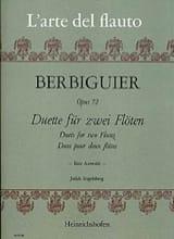 Benoît-Tranquille Berbiguier - Duette für 2 Flöten op. 72 - Partition - di-arezzo.fr