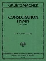Consecration Hymn Op.65 Gruetzmacher Partition laflutedepan.com