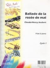 Claude-Henry Joubert - Ballade de la rosée de mai - Partition - di-arezzo.fr