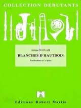 Blanches d'hautbois Jérôme Naulais Partition laflutedepan.com