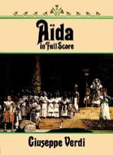 Giuseppe Verdi - Aïda - Partition - di-arezzo.fr