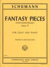 Fantasy Pieces op. 73 SCHUMANN Partition laflutedepan.com