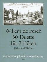 30 Duette op. 11 - 2 Flöten (o. Flöte u. Violine) laflutedepan.com
