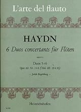 6 Duos concertants, op. 101 Heft. 3 - 2 Flöten HAYDN laflutedepan