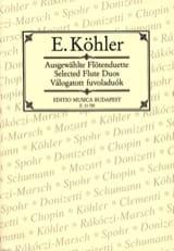 Ernesto KÖHLER - Ausgewählte Flötenduette - 2 Flöten - Partition - di-arezzo.fr