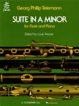 Suite En la Mineur - Flûte et Piano TELEMANN laflutedepan.com