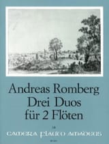 3 Duos Opus 62 Andreas Romberg Partition laflutedepan.com