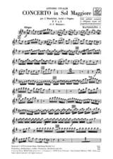 Concerto en Sol Maj. - F. 5 n° 2 –Set (Matériel) laflutedepan.com