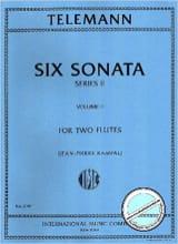 6 Sonatas Série 2, Volume 2 - 2 Flutes TELEMANN laflutedepan.com