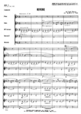 DEBUSSY - Reverie - Woodwind quintet - Score parts - Sheet Music - di-arezzo.com