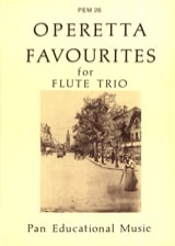 Operetta favourites - Flute Trio Partition laflutedepan.com