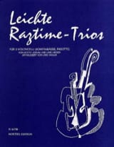 Leichte Ragtime-Trios - Joplin Scott / Heger Uwe - laflutedepan.com