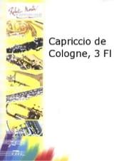 Capriccio de Cologne Raymond Guiot Partition laflutedepan.com