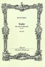 Suite Op. 16 David Popper Partition Violoncelle - laflutedepan.com