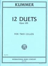 Friedrich-August Kummer - 12 Duets op. 105 - Partition - di-arezzo.fr