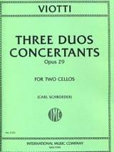 3 Duos concertants op. 29 Giovanni Battista Viotti laflutedepan.com