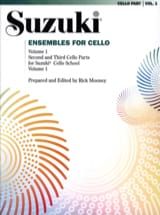Ensembles For Cello Volume 1 Suzuki Partition laflutedepan.com