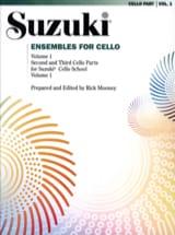 Ensembles For Cello Volume 1 - Suzuki - Partition - laflutedepan.com