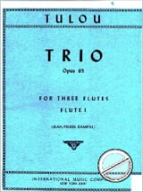 Jean-Louis Tulou - Trio op. 65 – 3 Flûtes - Partition - di-arezzo.fr