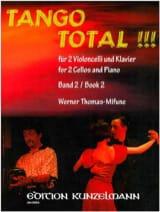 Tango Total - Volume 2 Werner Thomas-Mifune Partition laflutedepan.com