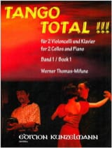 Tango Total - Volume 1 Werner Thomas-Mifune Partition laflutedepan.com