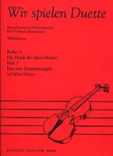 Wir Spielen Duette, Heft 3 Willibald Lutz Partition laflutedepan.com