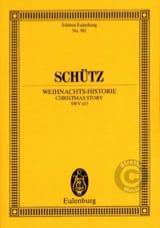 Heinrich Schütz - Weihnachts-Historie - Partition - di-arezzo.fr