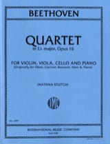 Quartet Eb major op. 16 – Parts - laflutedepan.com