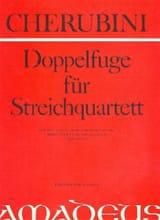 Luigi Cherubini - Doppelfuge für Streichquartett –Partitur + Stimmen - Partition - di-arezzo.fr