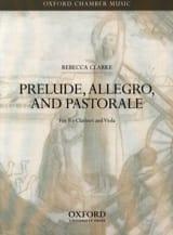 Prelude, Allegro And Pastorale - Rebecca Clarke - laflutedepan.com