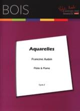 Francine Aubin - Aquarelles - Partition - di-arezzo.fr