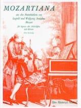 Mozartiana Leopold & Wolfgang Mozart Partition laflutedepan.com