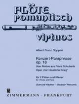 Albert Franz Doppler - Konzert-Paraphrase op. 18 - Partition - di-arezzo.fr
