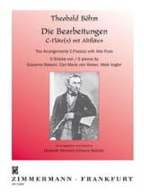 5 Stücke - Flöte Altflöte Klavier Theobald Boehm laflutedepan.com
