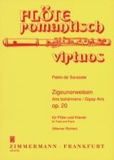 Airs Bohémiens Op. 20 SARASATE Partition laflutedepan