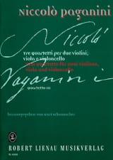 Quartetto n° 3 –Partitur + Stimmen Niccolò Paganini laflutedepan.com