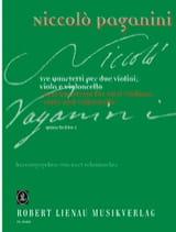 Quartetto n° 1 -Partitur + Stimmen PAGANINI Partition laflutedepan