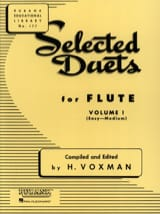 - Selected Duets for Flute - Volume 1 - Partition - di-arezzo.fr