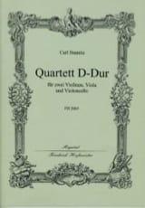 Carl Stamitz - Quartett D-Dur –Stimmen + Partitur - Partition - di-arezzo.fr