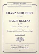 Salve Regina op. 153 A-Dur –Partitur + Stimmen - laflutedepan.com