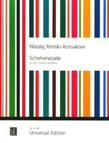 Scheherazade -2 Violinen Klavier laflutedepan.com