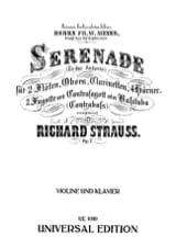 Richard Strauss - Serenade Es-Dur Andante op. 7 - Violine - Sheet Music - di-arezzo.co.uk