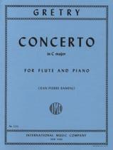 Concerto En Do Maj. - Flûte et Piano - laflutedepan.com