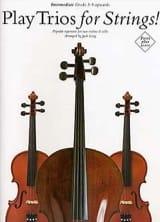 Play Trios for Strings ! - 2 Violins-cello Jack Long laflutedepan.com