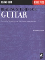 Reading Studies for guitar William Leavitt Partition laflutedepan.com
