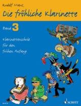Rudolf Mauz - Die fröhliche Klarinette - Bd. 3 - Sheet Music - di-arezzo.co.uk
