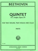 Quintet in C major op. 29 - Parts BEETHOVEN laflutedepan.com